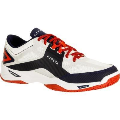 Bílo-černé pánské boty na volejbal ALLSIX