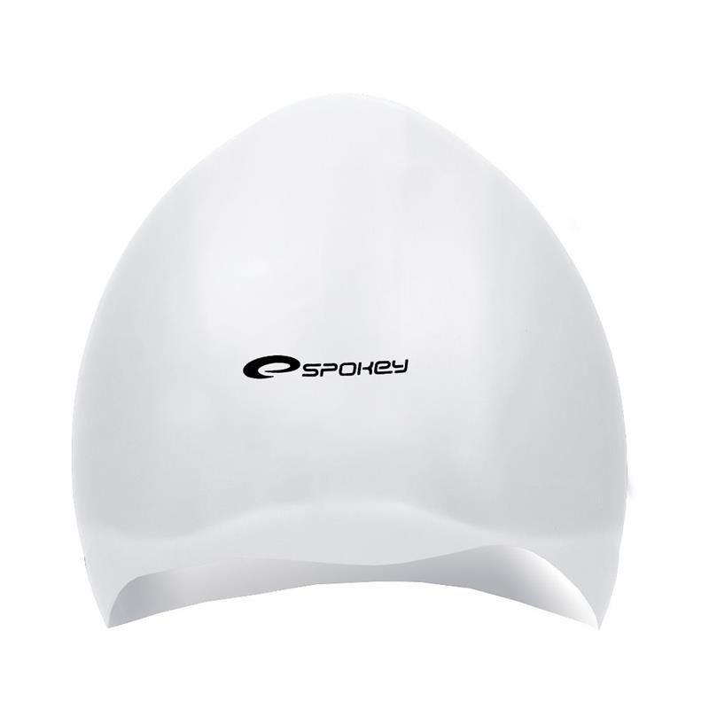 Bílá pánská nebo dámská plavecká čepice SEAGULL, Spokey