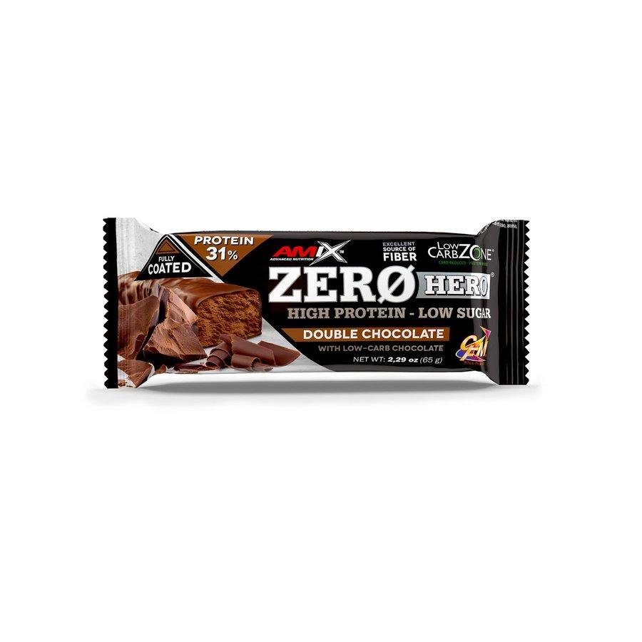 Proteinová tyčinka - AMIX Zero hero 31% protein bar 65 g pomeranč