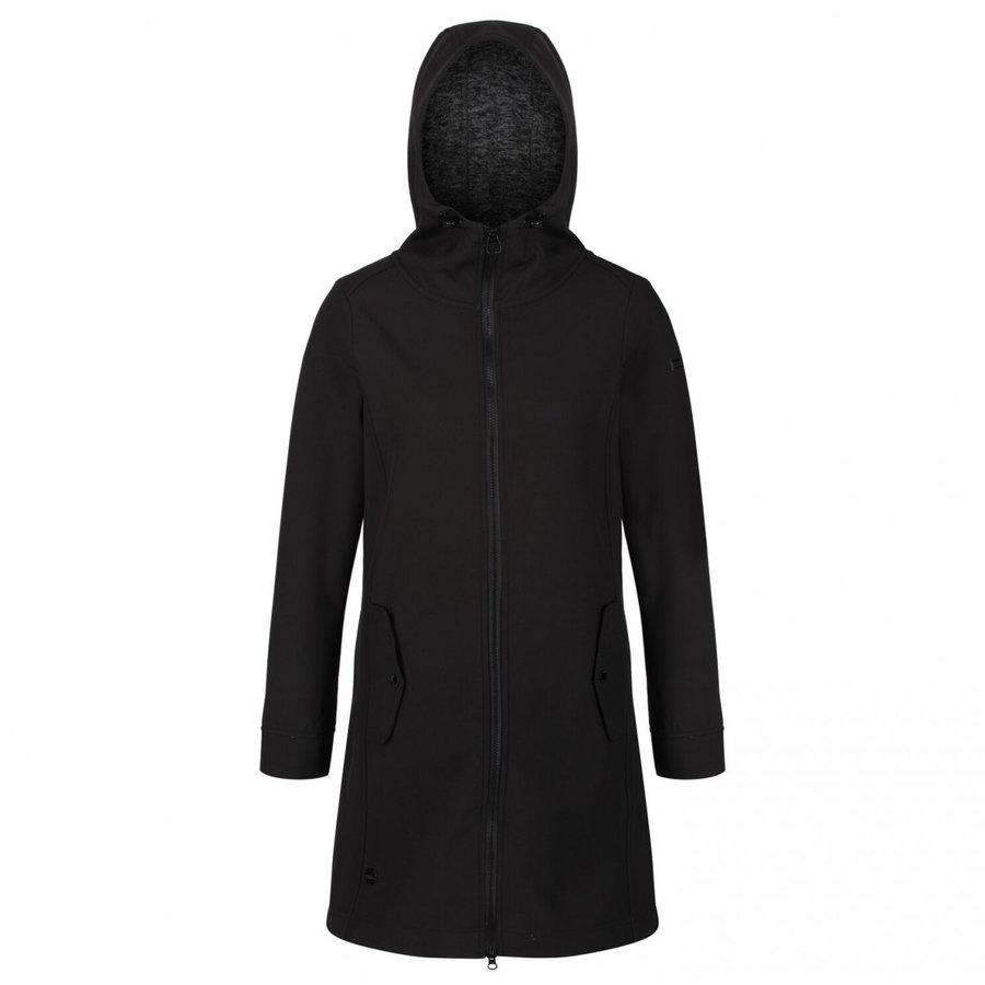 Černý dámský kabát Regatta - velikost XS