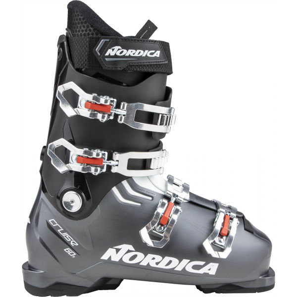 Černo-šedé pánské lyžařské boty Nordica