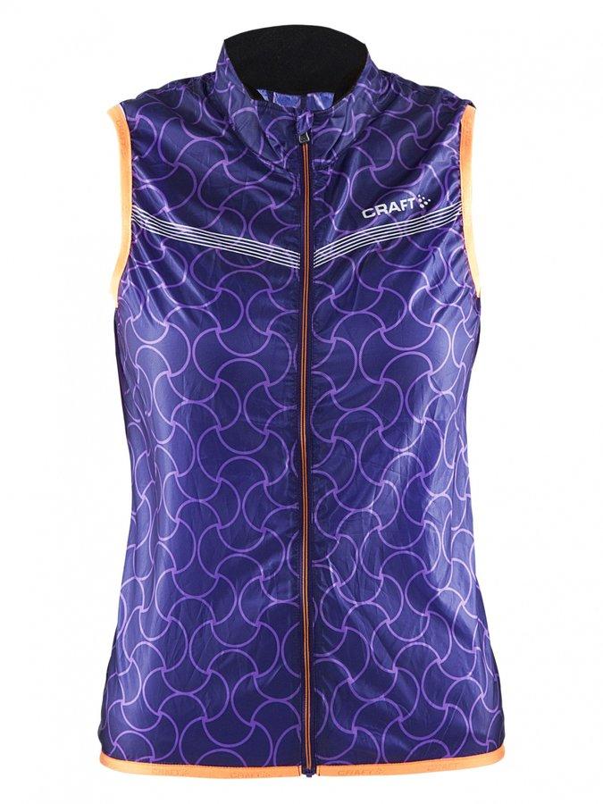 Fialová dámská jezdecká vesta Featherlight, Craft - velikost S