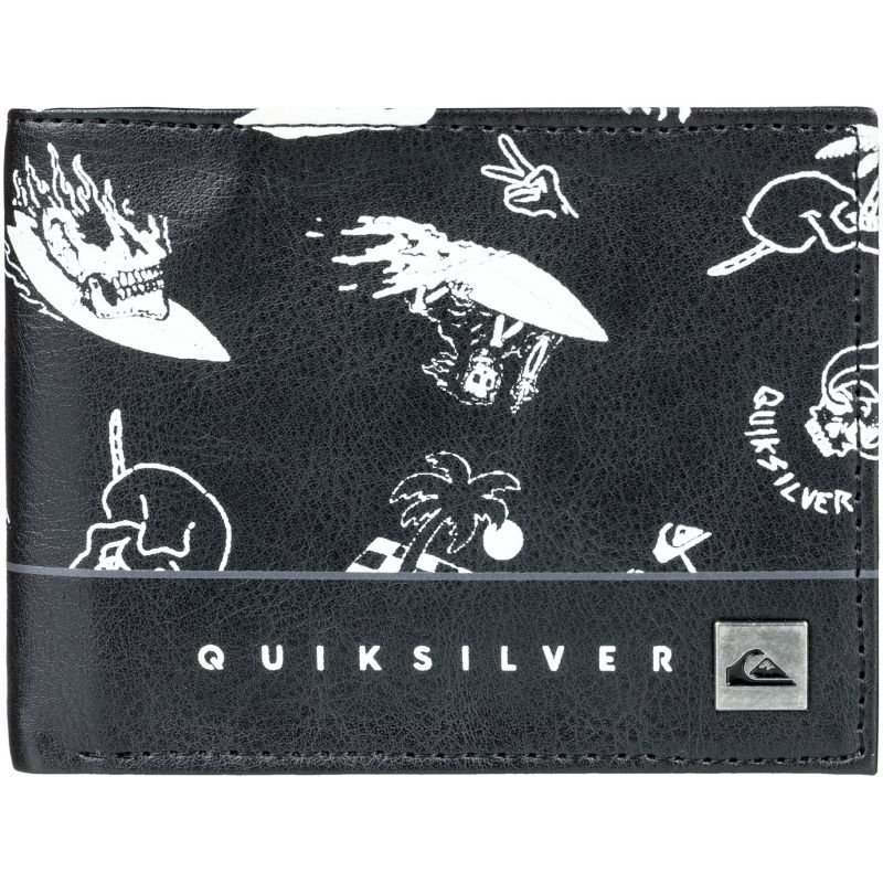 Peněženka - PENĚŽENKA QUIKSILVER FRESHNESS - černá - L