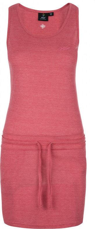 Růžové dámské šaty Kilpi