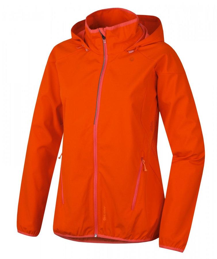 Oranžová dámská bunda Husky