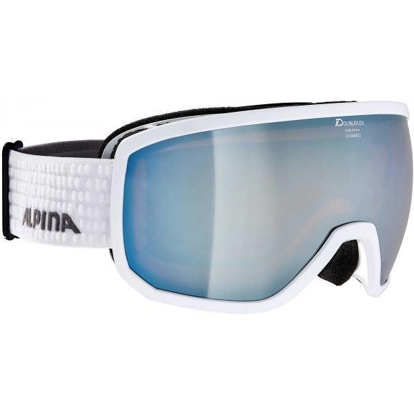 Lyžařské brýle - Alpina Sports SCARABEO MM bílá NS - Unisexové lyžařské brýle
