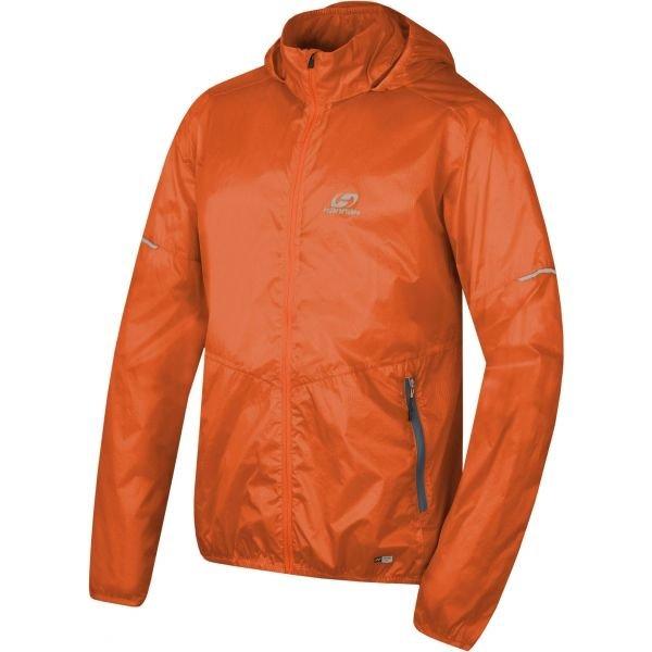 Oranžová pánská bunda Hannah