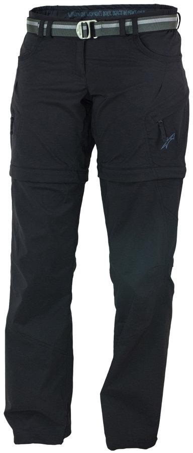 Černé dámské kalhoty Warmpeace - velikost XS