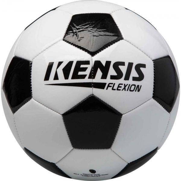 Bílo-černý dětský fotbalový míč Kensis