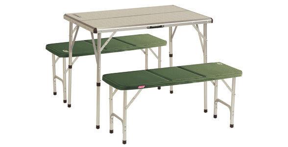 Kempingová sada nábytku Coleman 1x stůl, 2x lavice
