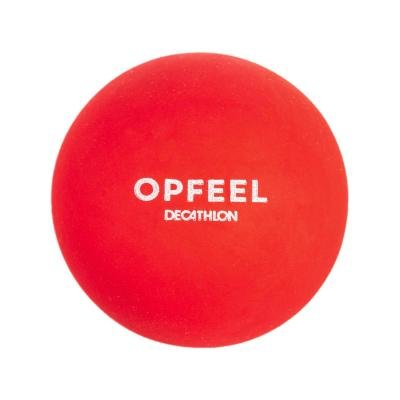 Červený míček na squash Opfeel - 2 ks