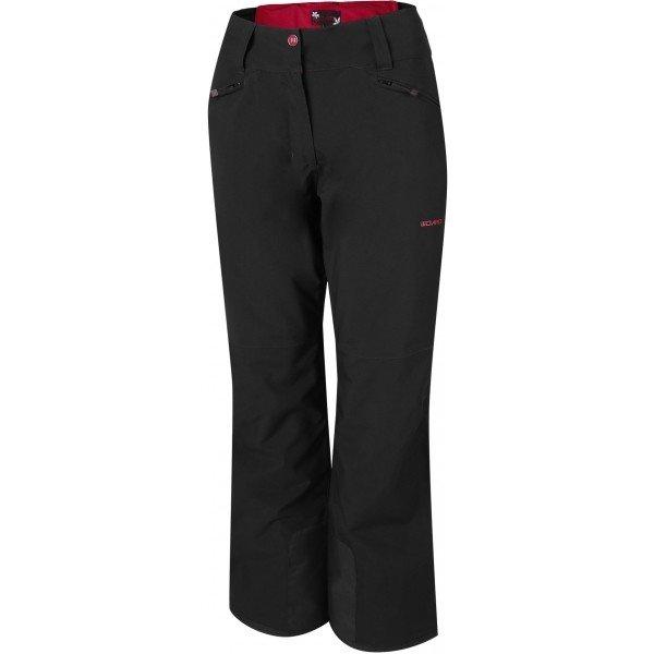 Černé softshellové zimní dámské kalhoty Willard