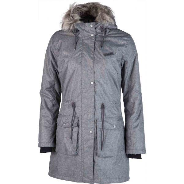 Šedý dámský kabát Willard
