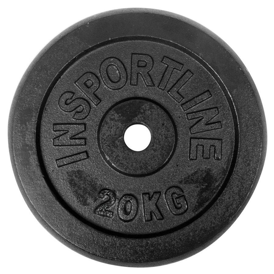 Kotouč na činky - inSPORTline Blacksteel 20 kg