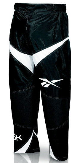 Kalhoty na in-line hokej - In-line kalhoty Reebok 5K Senior Black/White Velikost: XL