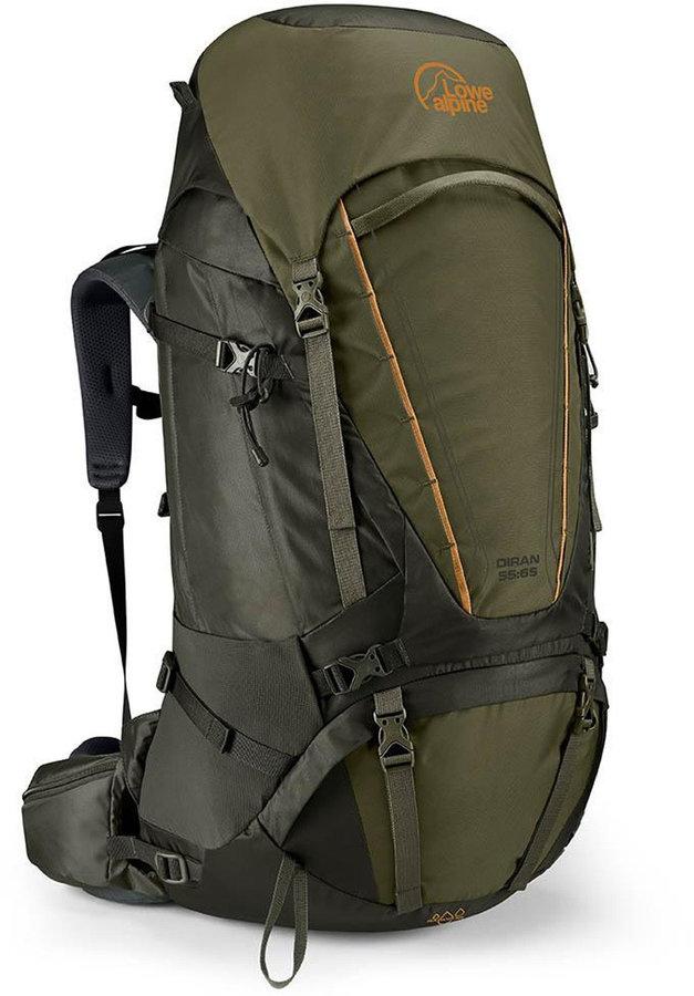 Batoh - Batoh Lowe Alpine Diran 55:65 Velikost zad batohu: M/L / Barva: zelená