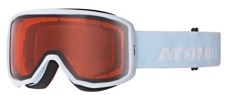 Bílo-oranžové lyžařské brýle Atomic