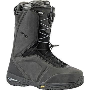 Černé pánské boty na snowboard Nitro - velikost 48 EU