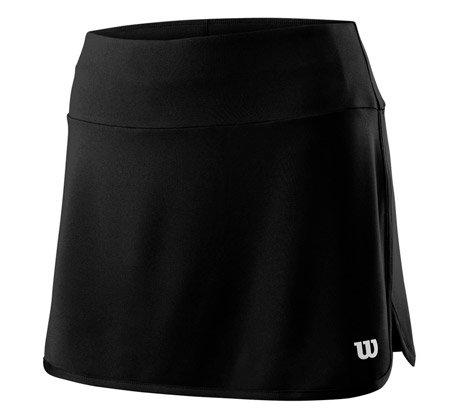 Černá dámská tenisová sukně Wilson