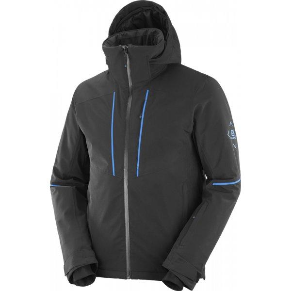 Černá pánská lyžařská bunda Salomon