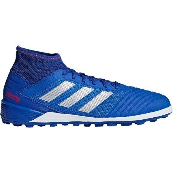 Modré pánské kopačky turfy Adidas - velikost 42 2/3 EU