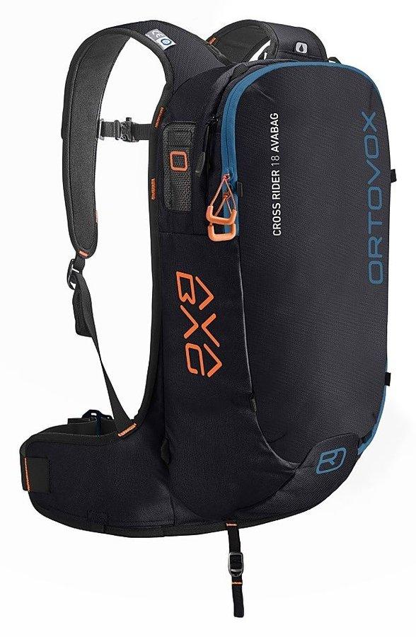 Černý lavinový skialpový batoh Ortovox - objem 18 l