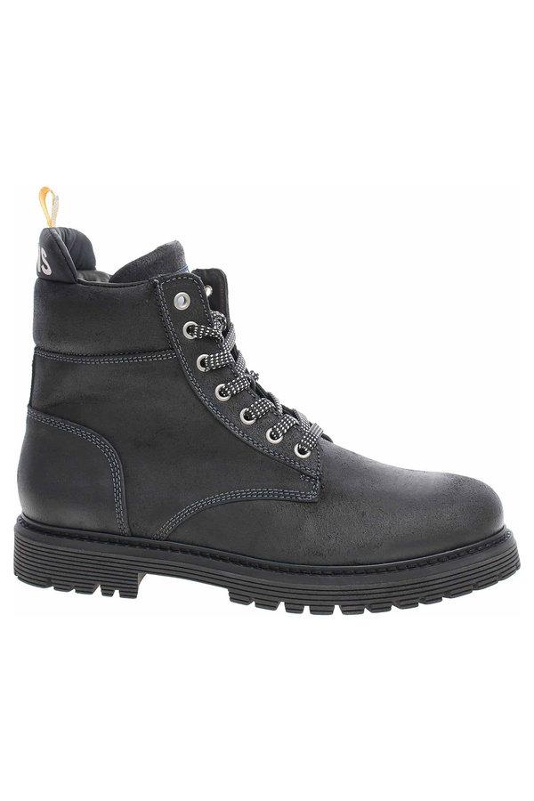 Černé pánské kotníkové boty Tommy Hilfiger