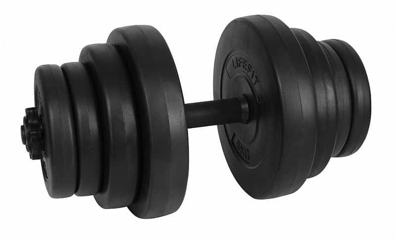 Činkový set - LIFEFIT MASTER 20kg