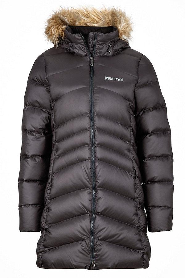 Černý dámský kabát Marmot - velikost S