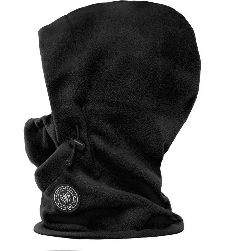 Černá lyžařská kukla Horsefeathers - univerzální velikost