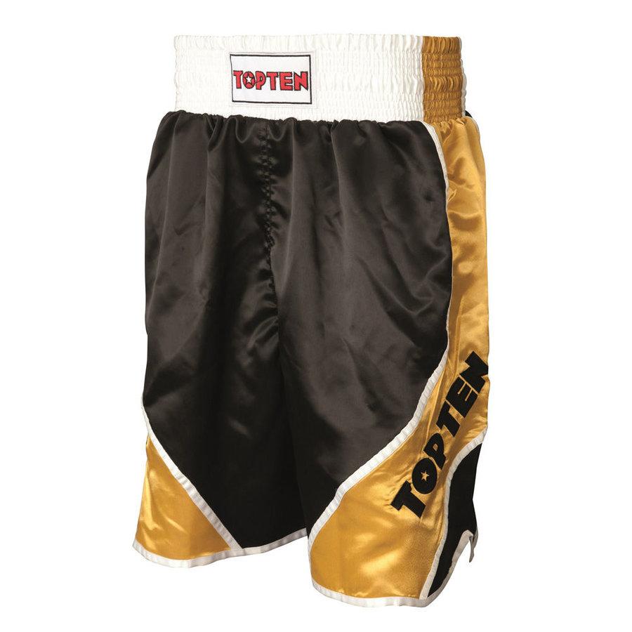 Černo-zlaté boxerské trenky Top Ten