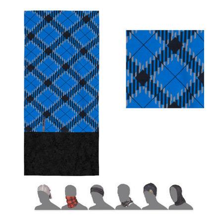 Černo-modrý multifunkční šátek Sensor