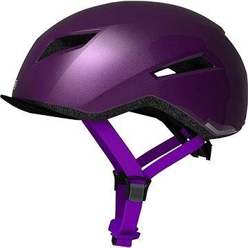 Fialová cyklistická helma ABUS - velikost M