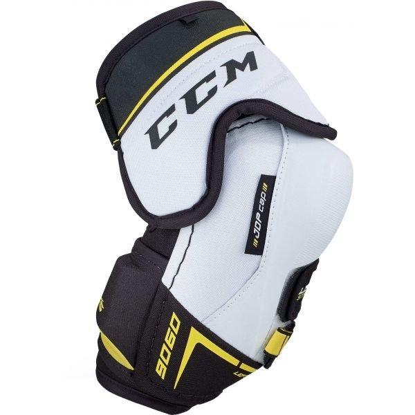 Bílo-černý hokejový chránič loktů - senior CCM - velikost L