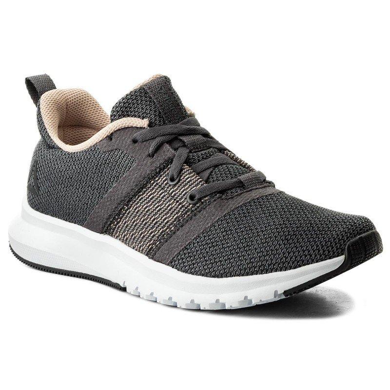 Hnědo-šedé dámské běžecké boty PRINT LITE RUSH, Reebok - velikost 38,5 EU