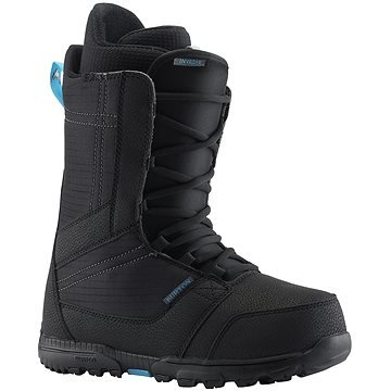 Černé pánské boty na snowboard Burton - velikost 42 EU