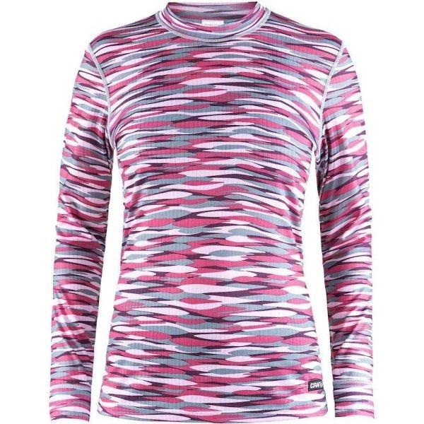 Růžové dámské funkční tričko s dlouhým rukávem Craft - velikost XS