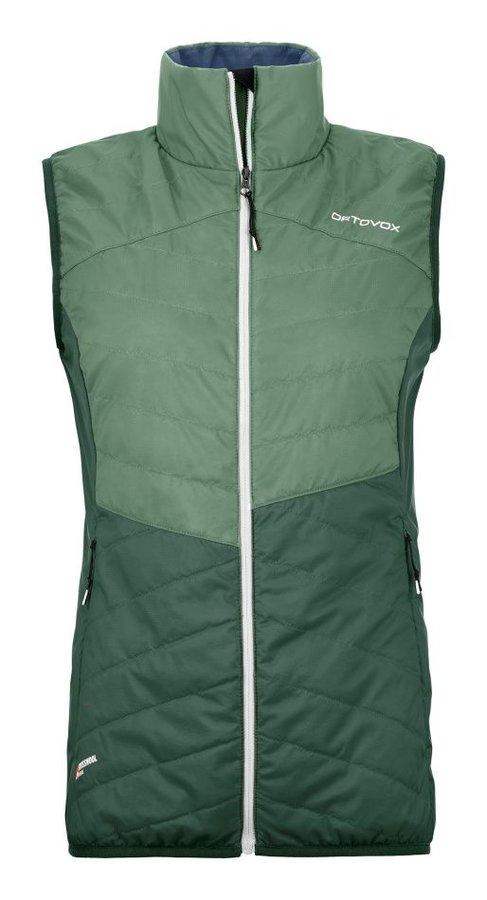 Zelená dámská vesta Ortovox
