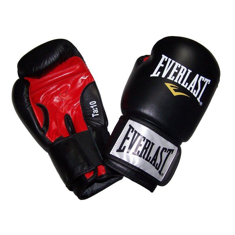 Černé boxerské rukavice Everlast - velikost 12 oz