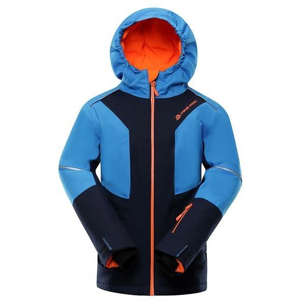 Modrá chlapecká lyžařská bunda Alpine Pro - velikost 104-110