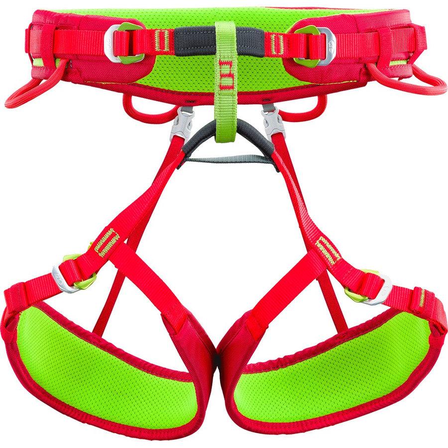 Červeno-žlutý dámský horolezecký úvazek Anthea, Climbing Technology