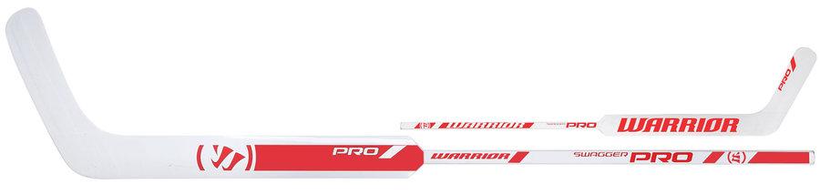 Levá brankářská hokejka (senior) Swagger PRO, WARRIOR - délka 66 cm