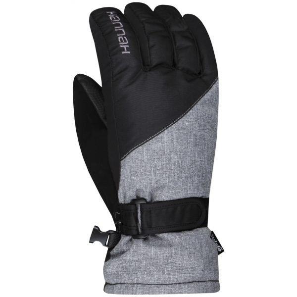 Černé dámské lyžařské rukavice Hannah - velikost M