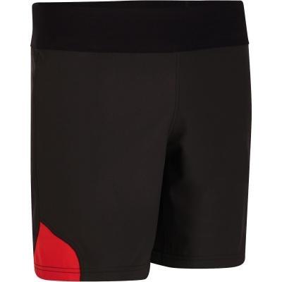 Černé pánské ragbyové kraťasy R500, Offload