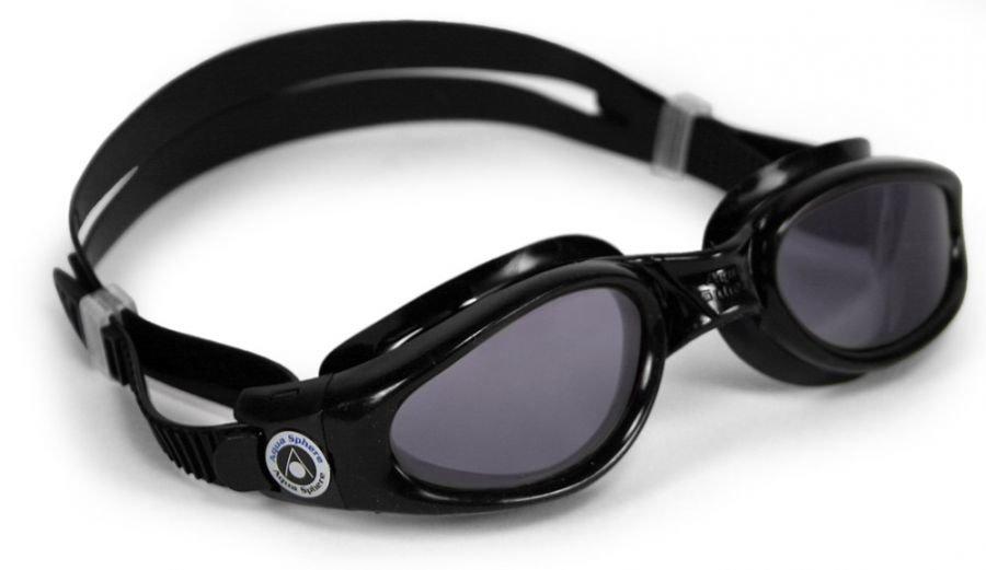 Černé dětské chlapecké nebo dívčí plavecké brýle KAIMAN, Aqua Sphere