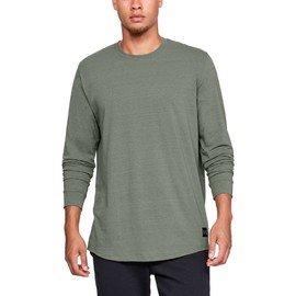 Zelené pánské tričko s dlouhým rukávem Under Armour