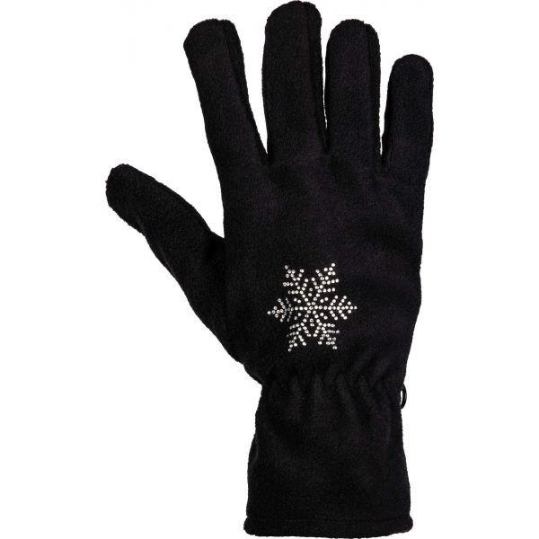 Černé dámské zimní rukavice Willard