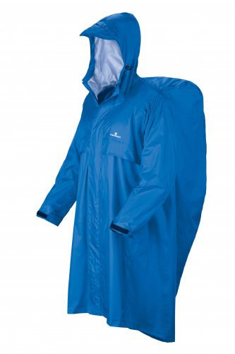 Pláštěnka - Pláštěnka Ferrino Trekker L/XL Barva: blue