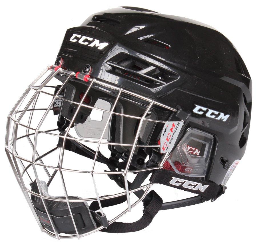 Hokejová helma - CCM Resistance Combo černá S