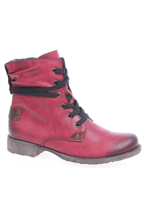 Kotníkové boty - Dámská kotníková obuv Rieker 70820-36 rot 70820-36 38